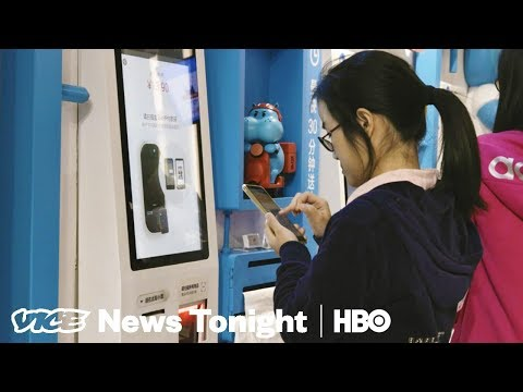 China's Tech Giant Alibaba Goes Offline With New Supermarkets (HBO)