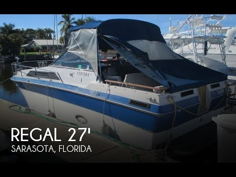 [UNAVAILABLE] Used 1987 Regal Commodore 277XL in Sarasota, Florida