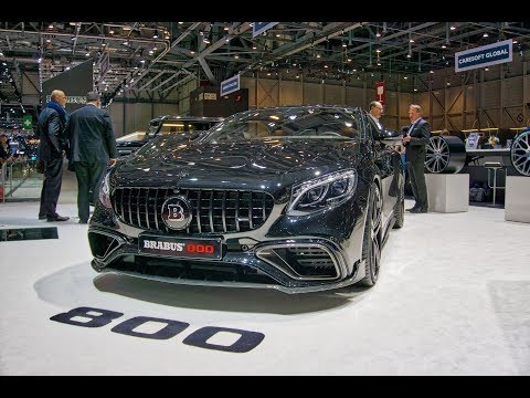 BRABUS STAND AT THE GENEVA MOTOR SHOW 2019 Epic 900-HP Mercedes-Maybach S650 And More, Walkaround