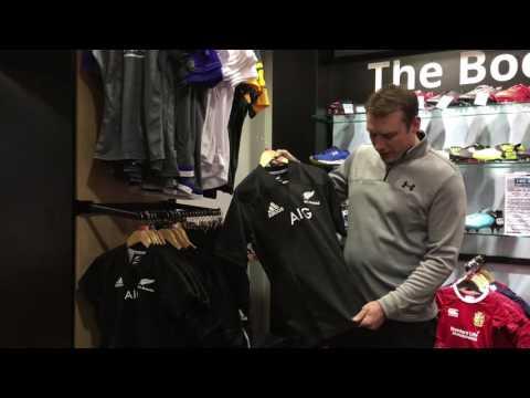 Adidas New Zealand All Blacks 2017 Replica Rugby Shirt