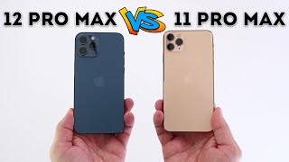 iPhone 12 Pro Max vs iPhone 11 Pro Max - Is it an upgrade? (Camera comparison too!)