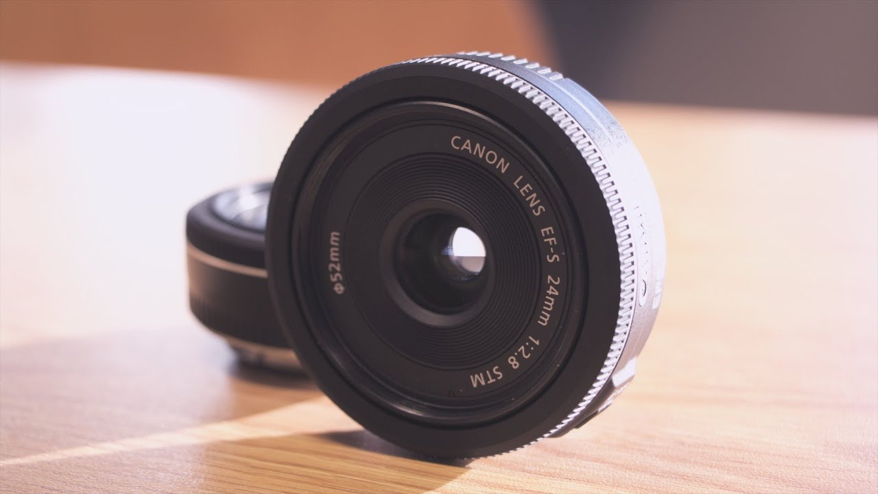 Canon EF-S 24mm f/2.8 STM Lens Review - YouTube