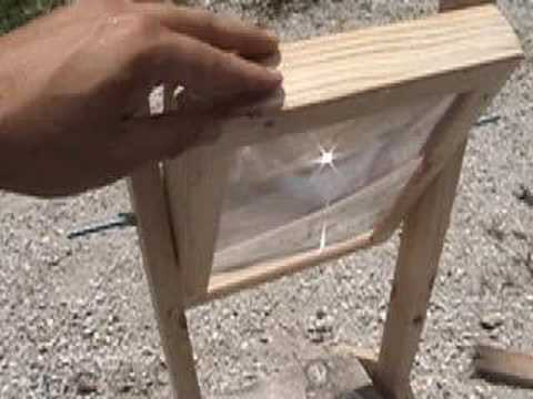 FRESNEL LENS 4 SUN COLLECTOR SOLAR POWER