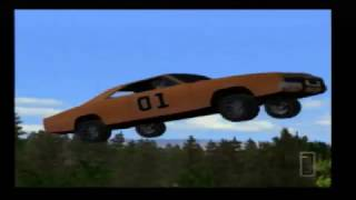 Dukes of Hazzard: Return of the General Lee Stunt Montage
