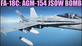 FA-18C Hornet: AGM-154 JSOW Glide Bomb Tutorial | DCS WORLD