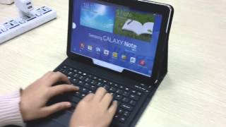bluetooth keyboard case review for samsung galaxy note 10 1 2014 edtion sm p600 p601 p605