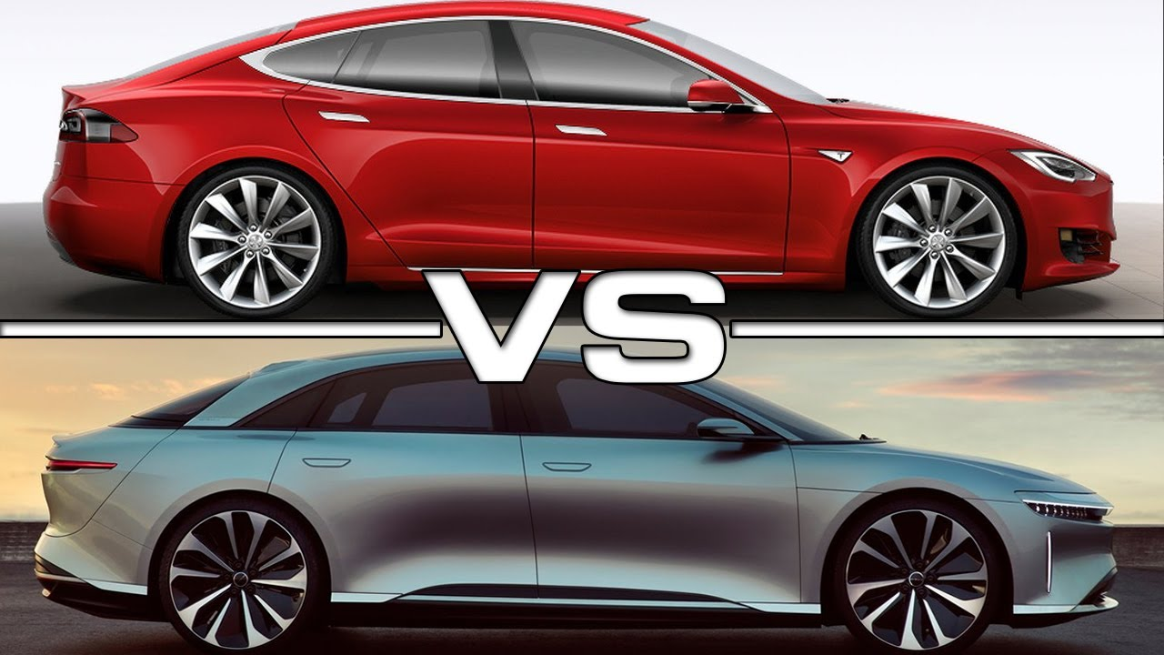 2019 Lucid Air Vs 2017 Tesla Model S P100d