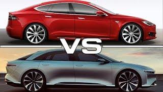 2019 Lucid Air vs 2017 Tesla Model S P100D