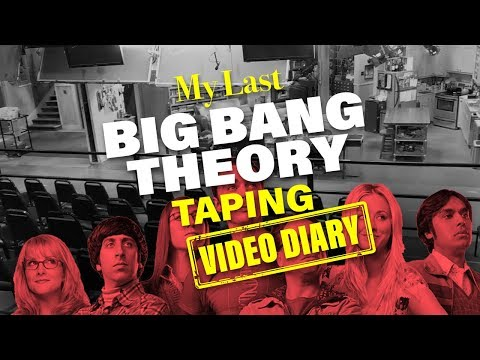 Filming The Big Bang Theory Finale: Behind-the-Scenes Video Diary || Mayim Bialik