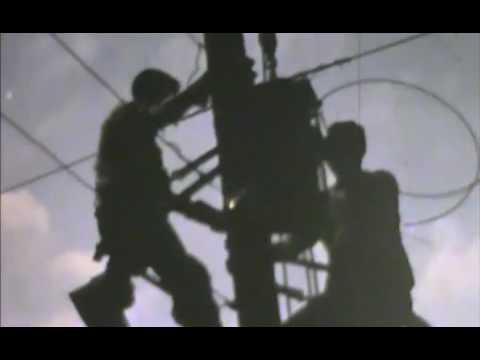 1960 footage of Alabama Power Company line crew in Birmingham