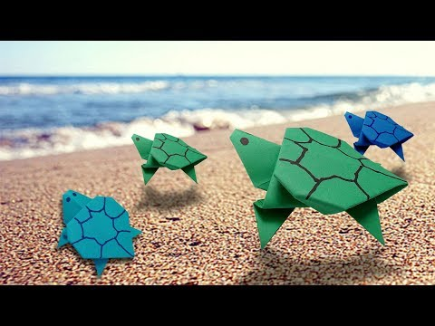 How to make a Paper turtle Crafts- easy origami turtle,AB crafts