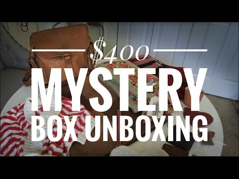 Unboxing Mystery Box from Love41 - Leather Bags, Accessories and Home Goods
