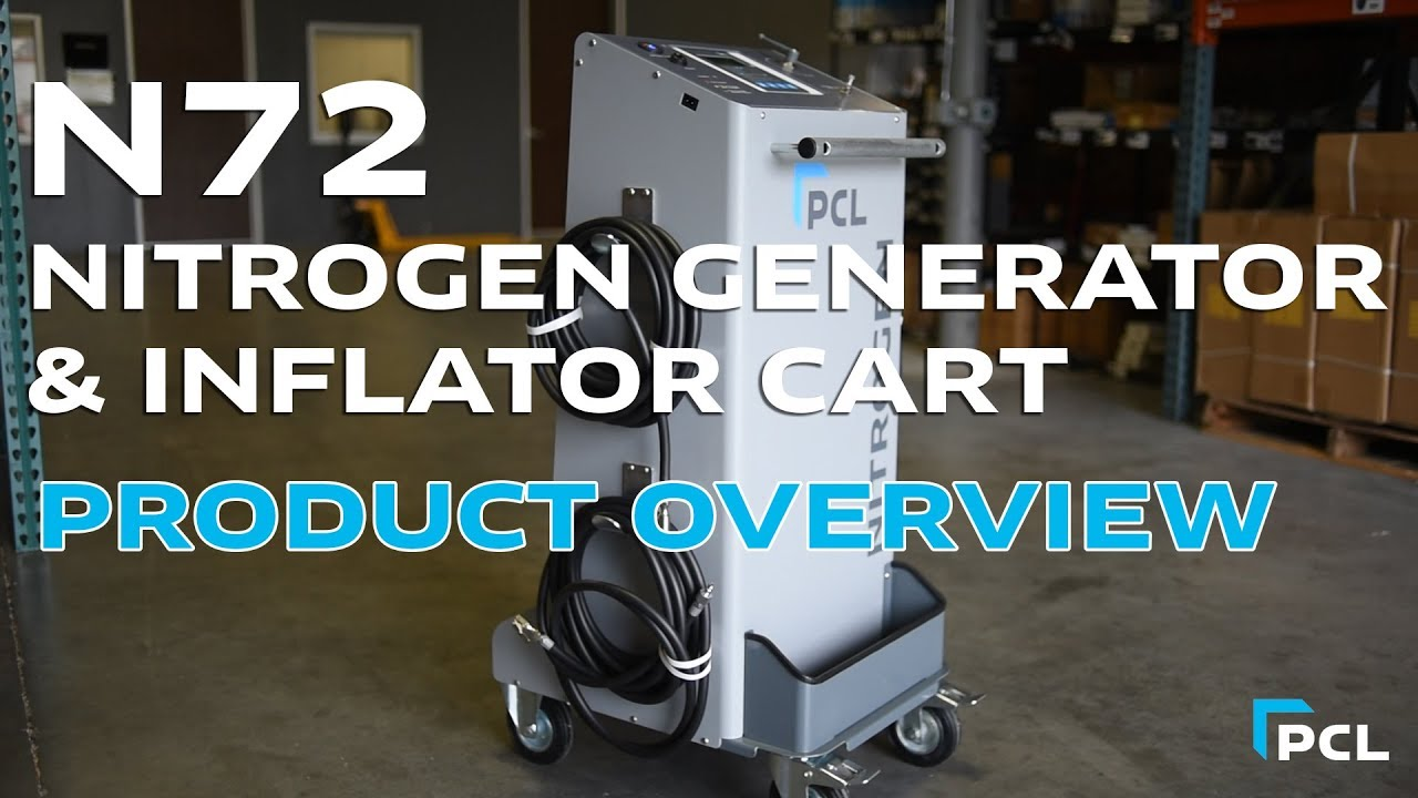 PCL - Mobile Nitrogen Generation and Inflation Cart
