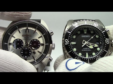 What are Solar and Kinetic Watches? Watch and Learn #23