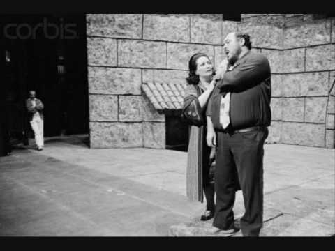 Montserrat Caballé & Luciano Pavarotti. Vicino a te. Andrea Chenier.