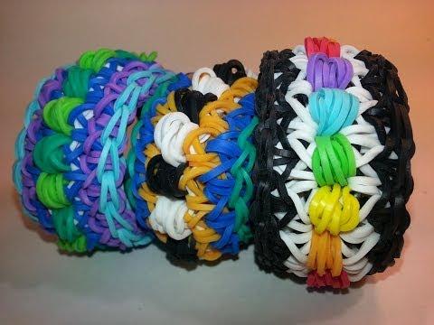 Dippy Dot Bracelet Tutorial by feelinspiffy (Rainbow Loom)