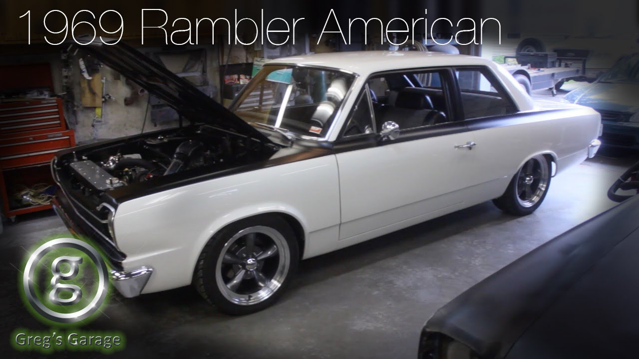 1969 Rambler American station wagon - Classic AMC Rambler American ...