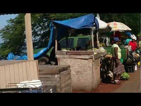 Saint George's Grenada. Produce Market