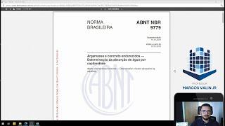 NBR 9779:2012 - Argamassa e concreto endurecidos — Determinação da absorção de água por capilaridade