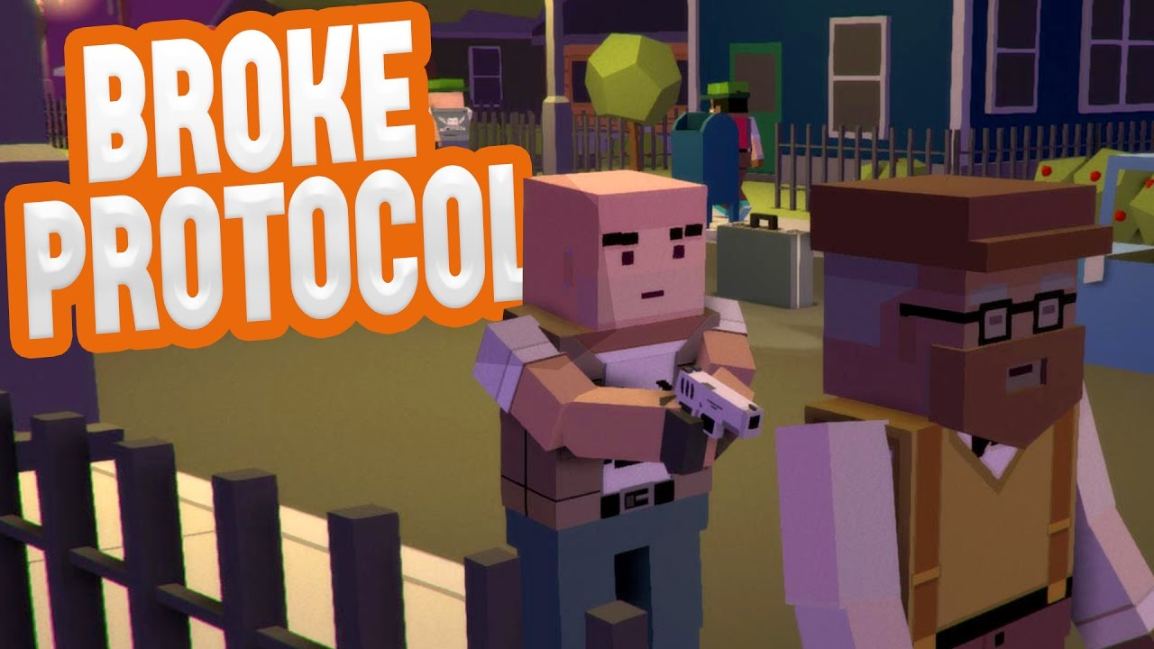 Broke Protocol – THIS WHOLE CITY IS CRAZY! – GTA Gone Blocky – Broke Protocol Gameplay Highlights