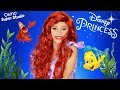 Little Mermaid Ariel Makeup and Costume Tutorial plus SUPER OSMO Holiday Challenge!