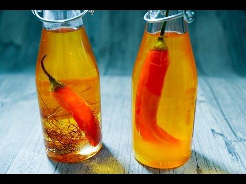 Chili Öl selber machen – DIY –  Rezept und Anleitung – Natürlich Lecker