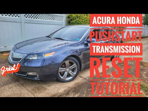 HOW TO RESET ACURA HONDA JERKY TRANSMISSION FIX LESS THAN 1 MINUTE TUTORIAL