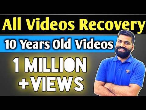 😱OMG Recovery Deleted Videos App 10 Year Old Videos Recovery In 1 Min!  Hindi