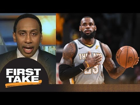 Stephen A. disagrees with LeBron James about importance of NBA playoff seeding | First Take | ESPN