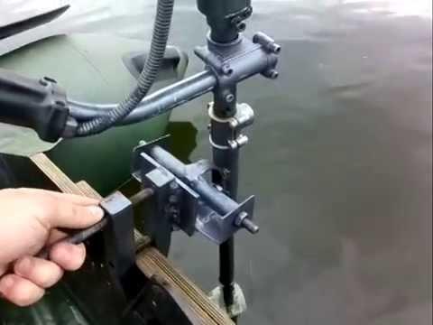 Лодочный мотор из газонокосилки Самодельный лодочный мотор из бензокосы газонокосилки триммера.