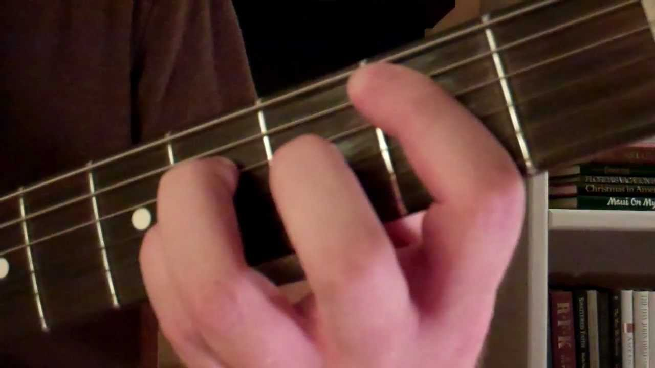 How To Play The B5 Power Chord On Guitar Youtube