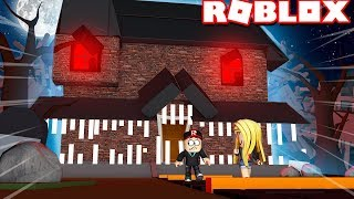 ESCAPING from the HAUNTED HOUSE in ROBLOX (Roblox Obby) | Vito vs Bella