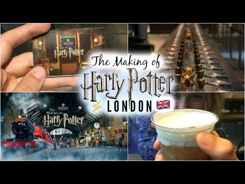 HARRY POTTER STUDIO TOUR 2016! 🇬🇧