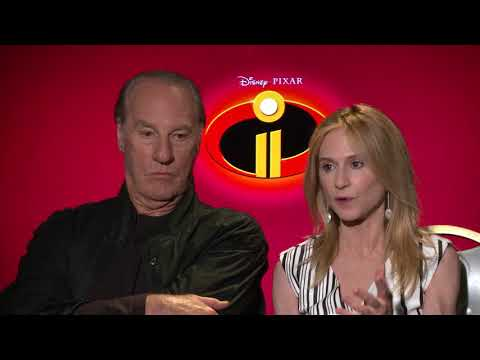Incredibles 2 : Craig T. Nelson & Holly Hunter