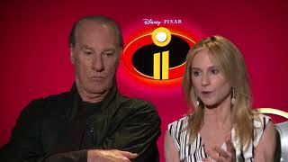 Incredibles 2 Interview: Craig T. Nelson & Holly Hunter