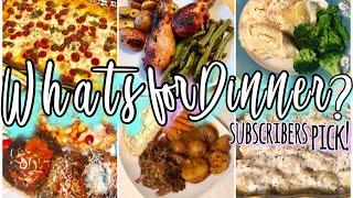 WHAT'S FOR DINNER? EASY FAMILY DINNER IDEAS + RECIPES AUGUST 2019