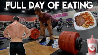 Full Day Of Eating Without Tracking | Deadlifts | Omorc Air Fryer