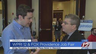 WPRI-12 & Fox Providence Job Fair