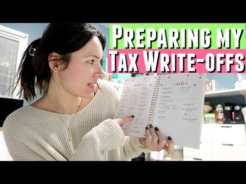 ORGANIZING TAX DOCUMENTS FOR ACCOUNTANT, Tax Write Offs For Business For Etsy Shop