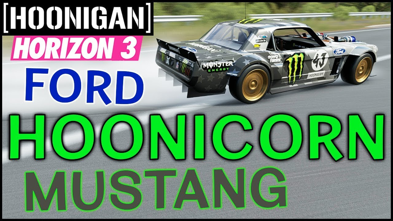 Hoonigan Mustang Forza Horizon 4