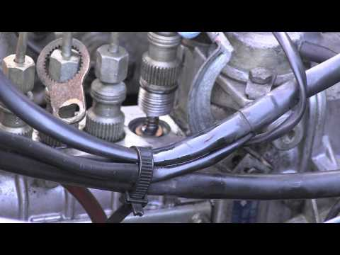 Mercedes Diesel Injection Pump Delivery Valves Leak Repair