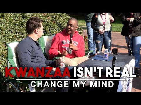 REAL CONVERSATIONS: Kwanzaa Isn't Real | Change My Mind
