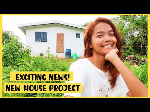 A Day In A Life: My New House Project In The Province Philippines