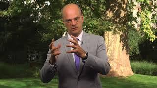 Jean-Michel Blanquer, colloque #LePlusImportant au Collège de France