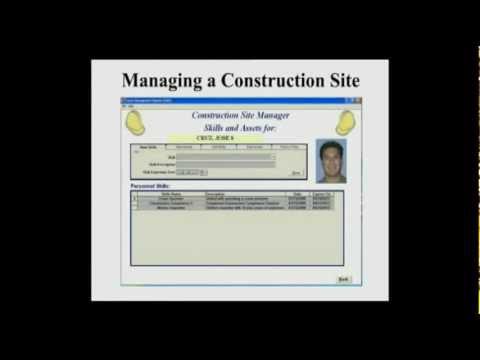 IdentiSys Tiger Video - Elliott Construction Site Manager