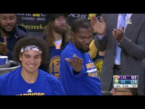stephen curry bromance with kevin durant, ian clark
