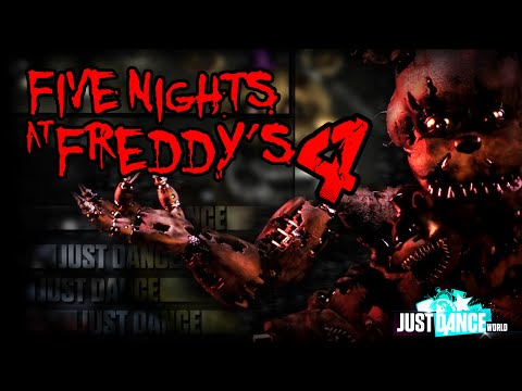 Just Dance 2016 | Five Nights at Freddy's 4 Song (BREAK MY MIND) | FANMADE | +10500 subs | MashUp