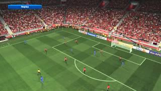 PES 2014: (AFC) Al Rayyan vs Al Hilal 2017 Video