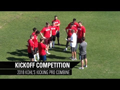 Kickoff Competition | 2018 Kohl's Kicking Pro Football Combine