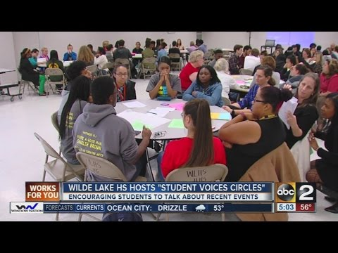 Wilde Lake High School hosts 'Student Voices Circles'
